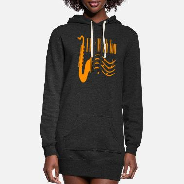 Guitarist I Fly With You - Women's Hoodie Dress