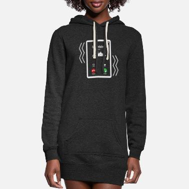 Mobile Mountains Mobile is Calling Mobile - Women's Hoodie Dress