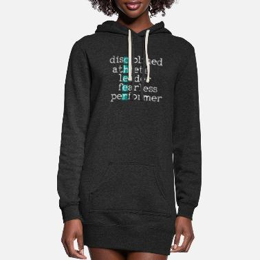 Cheer Cheer Cheering Cheerleader - Women's Hoodie Dress