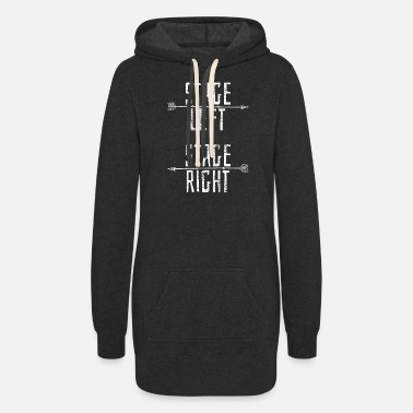 Stage Stage Theater Performer - Women's Hoodie Dress