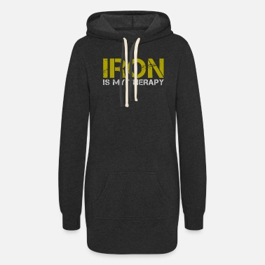 Iron Iron - Women's Hoodie Dress