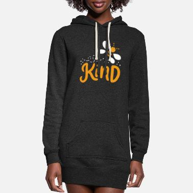 Bee Kindness Anti-Bullying Bee - Women's Hoodie Dress