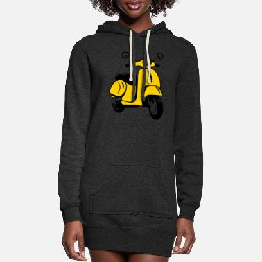 Scooter Motor scooter Scooter - Women's Hoodie Dress