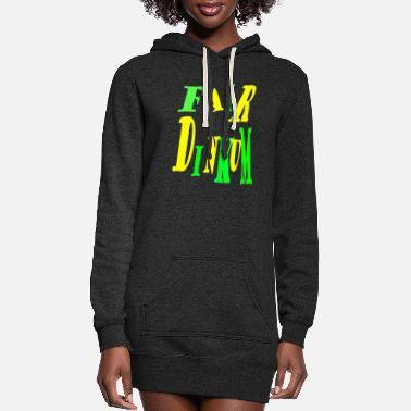 Dinkum Fair Dinkum Power merch - Women's Hoodie Dress