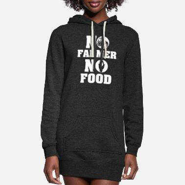 Food no farmer no food - Women's Hoodie Dress
