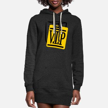 Team logo, member, vip, person, important, especia - Women's Hoodie Dress