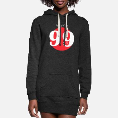 Occupy WE ARE 99 white - Women's Hoodie Dress