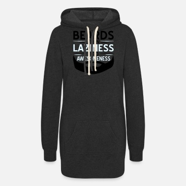 Turn On Beards Turn Laziness Into Awesomeness1 - Women's Hoodie Dress