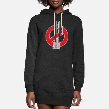 Missile No more missile - Women's Hoodie Dress