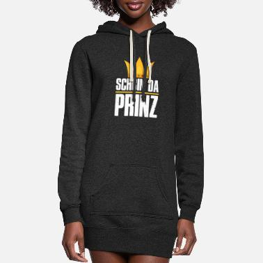 Prince Schbin da Prinz - Women's Hoodie Dress