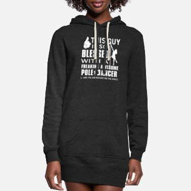 Horseshoe A freakin' awsome pole dancer - Women's Hoodie Dress