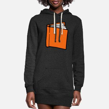 Book book - Women's Hoodie Dress