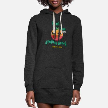Vacation Family Vacation 2020 Read Or Not Virginia Beach - Women's Hoodie Dress