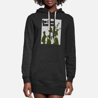Brass Band New Orleans Brass Band - Women's Hoodie Dress