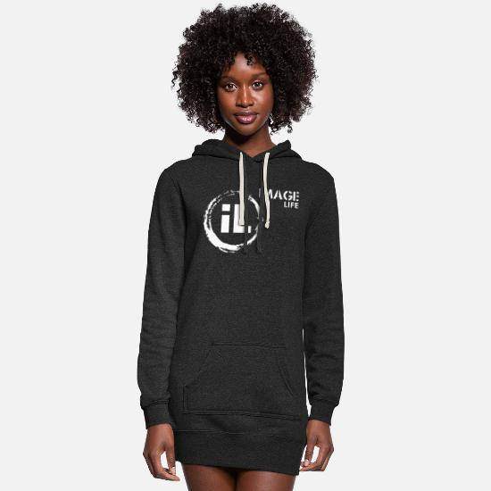 Image Hoodies & Sweatshirts - Image Life - Women's Hoodie Dress heather black