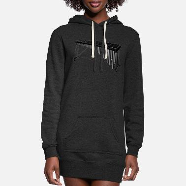 Instrument Marimba Instrument - Women's Hoodie Dress