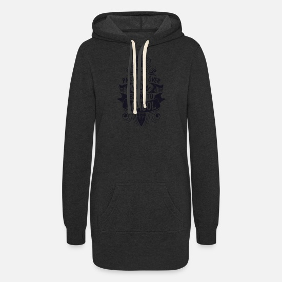 To Hoodies & Sweatshirts - Back To School - Women's Hoodie Dress heather black