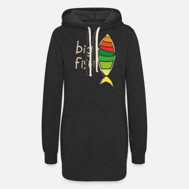 Big Fisk Gold - Women's Hoodie Dress