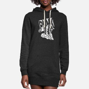 Punkx PUNK - Women's Hoodie Dress