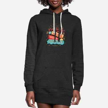 Creative creativity - Women's Hoodie Dress