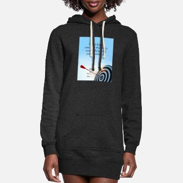 success comes what you do consistently - Women's Hoodie Dress