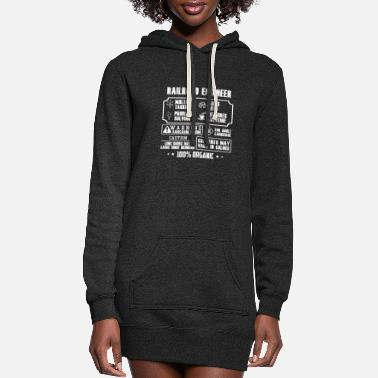 Railroad engineer - Contents may vary in colors - Women's Hoodie Dress