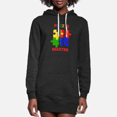 Puzzle Puzzle -puzzle master - Women's Hoodie Dress