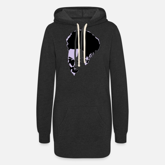 Bride Hoodies & Sweatshirts - Bride - Women's Hoodie Dress heather black