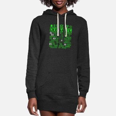 6 Stages of Debugging IT Coding Debugger Programme - Women's Hoodie Dress