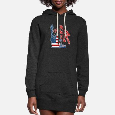 4th of july t-shirts - Women's Hoodie Dress