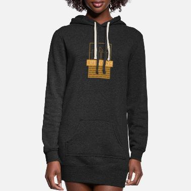 Building Building - Women's Hoodie Dress