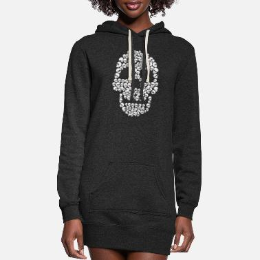 Skull Skull of Skulls - Women's Hoodie Dress