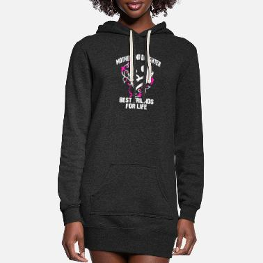 Mother Mother And Daughter Shirt - Women's Hoodie Dress