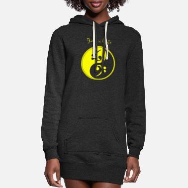 Bass Bass - Bass is Life - Women's Hoodie Dress