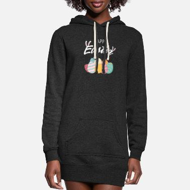 Happy Easter Happy Easter - Women's Hoodie Dress