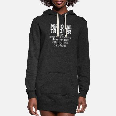 Trainer Personal Trainer - Women's Hoodie Dress