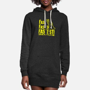 Fast Fast - Women's Hoodie Dress