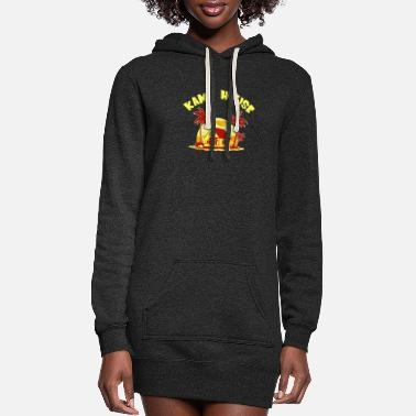 MASTER ROSHI KAME HOUSE SUPER - Women's Hoodie Dress