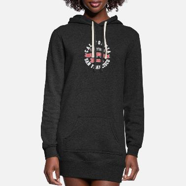 California California - Women's Hoodie Dress