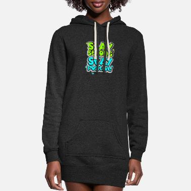 Word Positive Quote (8) - Women's Hoodie Dress