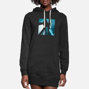 Building Buildings - Women's Hoodie Dress