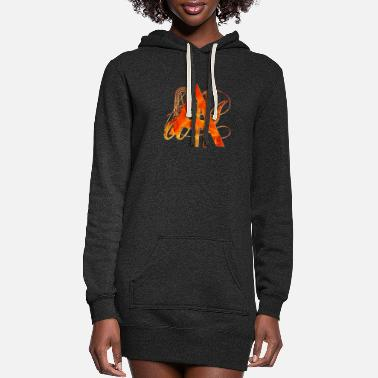 Brand Branded A - Women's Hoodie Dress