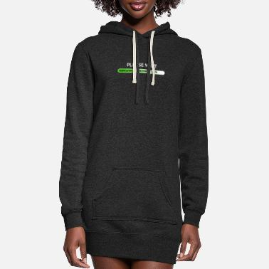 Sarcasm sarcasm_loading - Women's Hoodie Dress