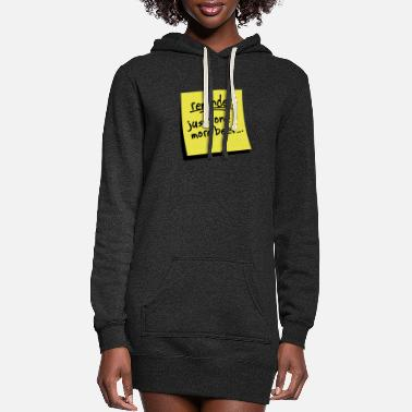 Reminder reminder beer - Women's Hoodie Dress