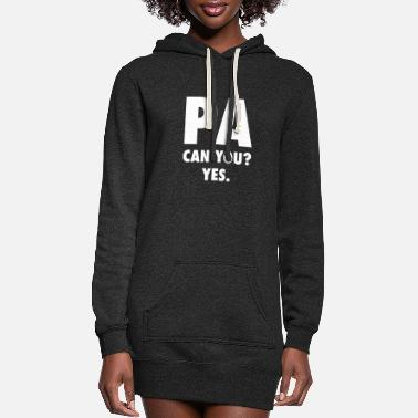 Tv Production Film Production Assistant PA Gift - Women's Hoodie Dress