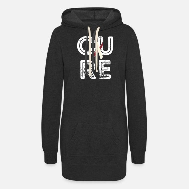 Neck Cure Head and Neck Cancer - Women's Hoodie Dress
