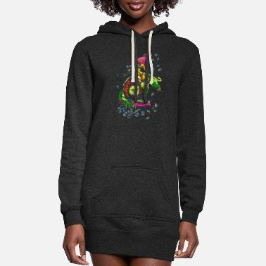 Sour SOUR PUSS - Women's Hoodie Dress