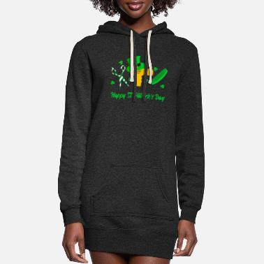 Beer Salon Happy St. Patrick's Day Gift - Women's Hoodie Dress