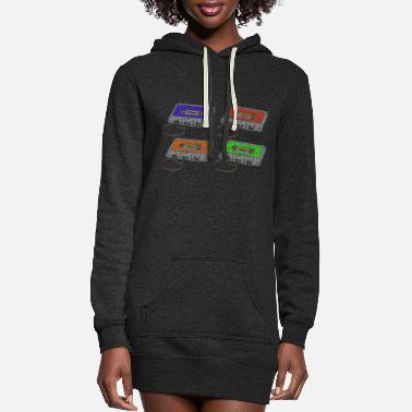 Cassette Cassettes music cassettes - Women's Hoodie Dress