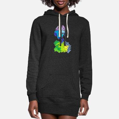 Affection Affect - Women's Hoodie Dress